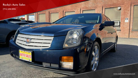 2006 Cadillac CTS for sale at Rocky's Auto Sales in Worcester MA