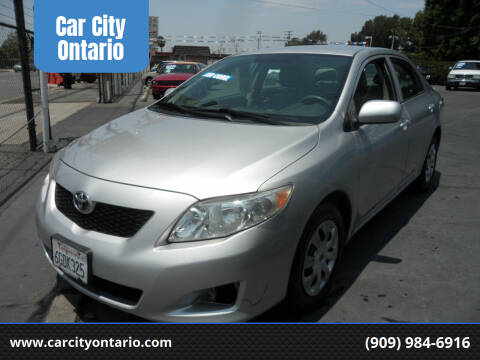 2009 Toyota Corolla for sale at Car City Ontario in Ontario CA