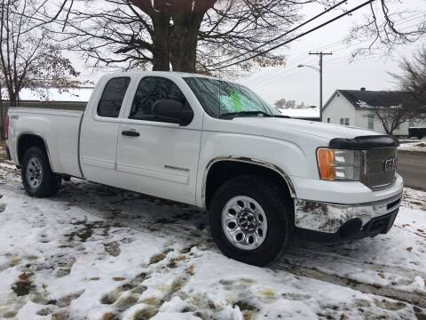 2012 GMC Sierra 1500 for sale at Antique Motors in Plymouth IN