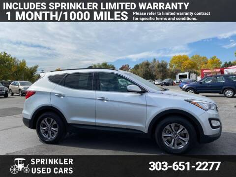 2015 Hyundai Santa Fe Sport for sale at Sprinkler Used Cars in Longmont CO