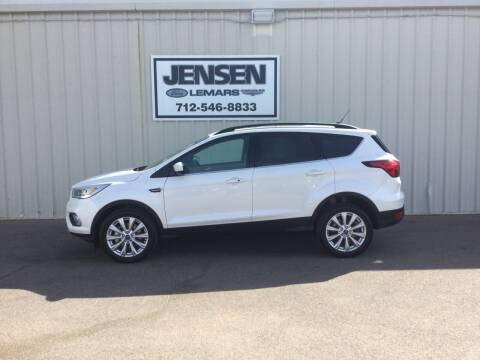 2019 Ford Escape for sale at Jensen's Dealerships in Sioux City IA