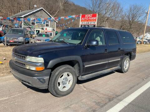 2005 Chevrolet Suburban for sale at Korz Auto Farm in Kansas City KS
