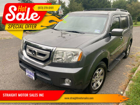 2011 Honda Pilot for sale at STRAIGHT MOTOR SALES INC in Paterson NJ