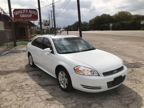 2012 Chevrolet Impala for sale at Quality Auto Group in San Antonio TX
