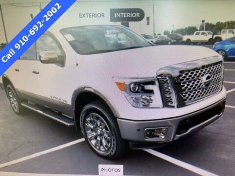 2019 Nissan Titan for sale at PHIL SMITH AUTOMOTIVE GROUP - SOUTHERN PINES GM in Southern Pines NC