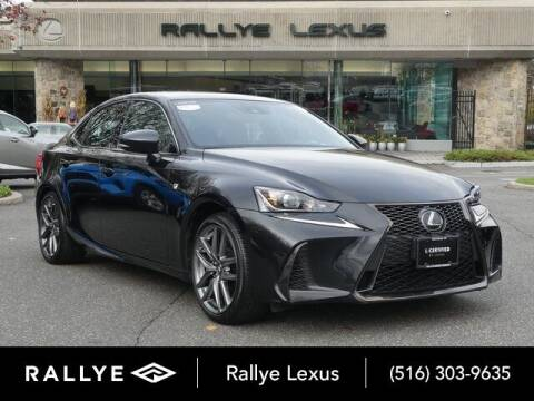 2018 Lexus IS 300 for sale at RALLYE LEXUS in Glen Cove NY