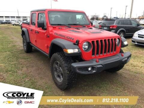 2020 Jeep Gladiator for sale at COYLE GM - COYLE NISSAN in Clarksville IN