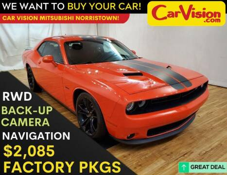 2017 Dodge Challenger for sale at Car Vision Mitsubishi Norristown in Trooper PA