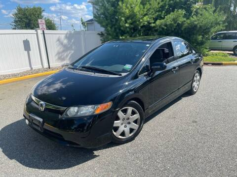 2008 Honda Civic for sale at Giordano Auto Sales in Hasbrouck Heights NJ