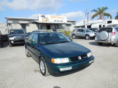 1996 Volkswagen Passat for sale at DMC Motors of Florida in Orlando FL