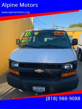 2015 Chevrolet Express Cargo for sale at Alpine Motors in Van Nuys CA