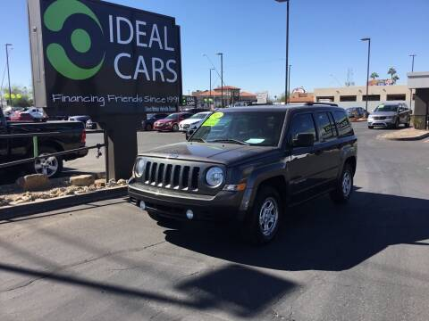 2015 Jeep Patriot for sale at Ideal Cars Broadway in Mesa AZ