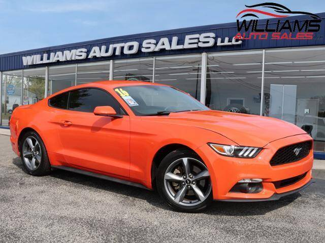 2016 Ford Mustang for sale at Williams Auto Sales, LLC in Cookeville TN