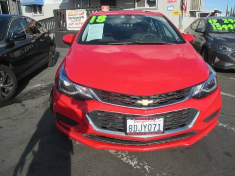2018 Chevrolet Cruze for sale at Quick Auto Sales in Modesto CA