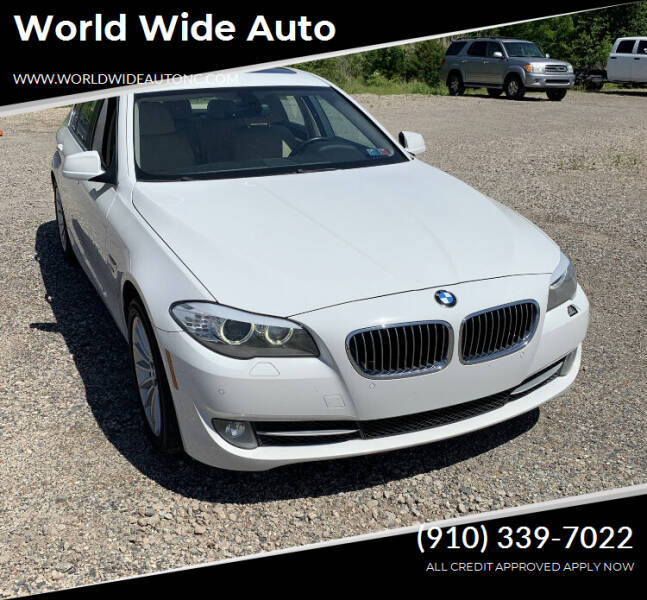 2011 BMW 5 Series for sale at World Wide Auto in Fayetteville NC