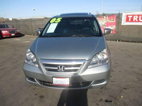 2005 Honda Odyssey for sale at Quick Auto Sales in Modesto CA