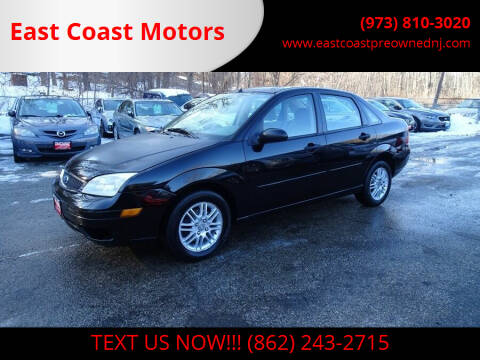 2007 Ford Focus for sale at East Coast Motors in Lake Hopatcong NJ