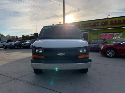 2010 Chevrolet Express Cargo for sale at Auto Outlet of Sarasota in Sarasota FL