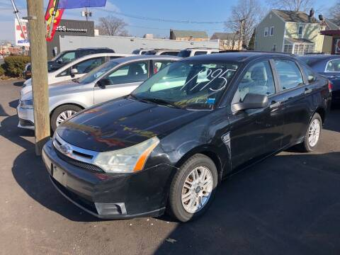 2008 Ford Focus for sale at BIG C MOTORS in Linden NJ