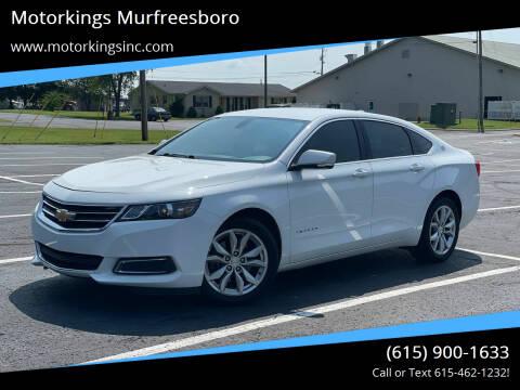 2017 Chevrolet Impala for sale at Motorkings Murfreesboro in Murfreesboro TN