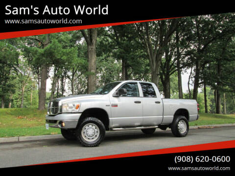 2009 Dodge Ram Pickup 2500 for sale at Sam's Auto World in Roselle NJ