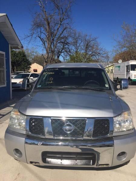 2004 Nissan Titan for sale at Progressive Auto Plex in San Antonio TX