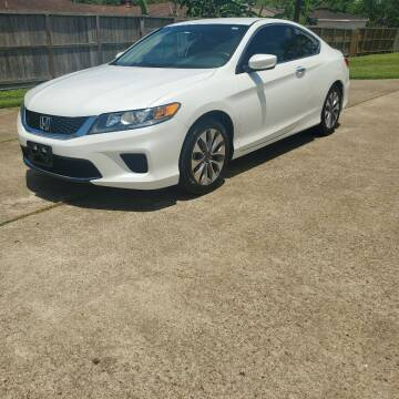 2015 Honda Accord for sale at MOTORSPORTS IMPORTS in Houston TX