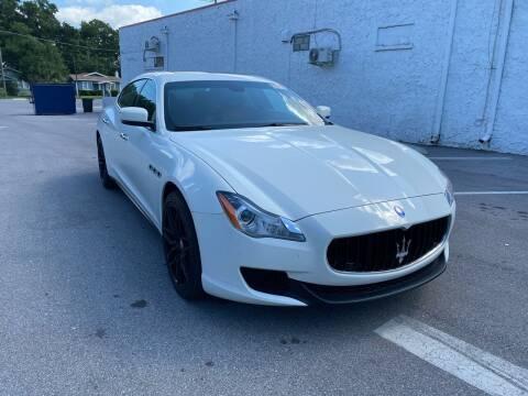 2016 Maserati Quattroporte for sale at LUXURY AUTO MALL in Tampa FL