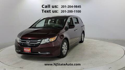2015 Honda Odyssey for sale at NJ State Auto Used Cars in Jersey City NJ