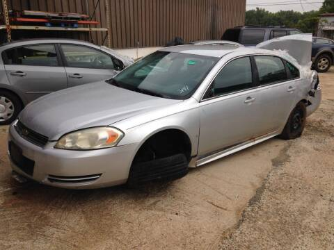 2010 Chevrolet Impala for sale at ASAP Car Parts in Charlotte NC