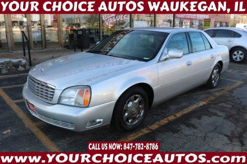 2002 Cadillac DeVille for sale at Your Choice Autos - Waukegan in Waukegan IL