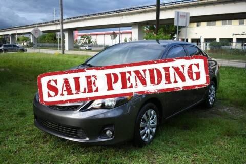2012 Toyota Corolla for sale at STS Automotive - Miami, FL in Miami FL