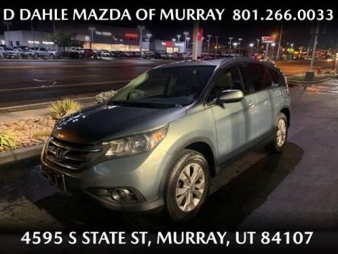 2012 Honda CR-V for sale at D DAHLE MAZDA OF MURRAY in Salt Lake City UT
