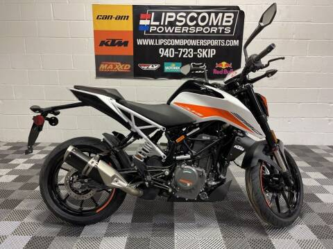 2021 KTM 390 Duke for sale at Lipscomb Powersports in Wichita Falls TX