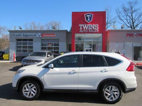 2015 Honda CR-V for sale at Twins Auto Sales Inc in Detroit MI