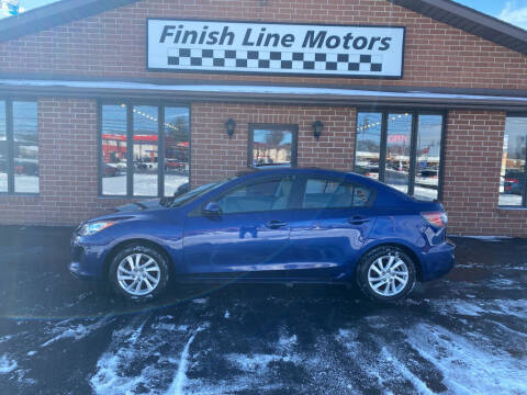 2012 Mazda MAZDA3 for sale at FINISHLINE MOTORS in Canton OH