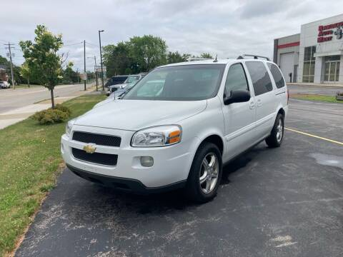 2005 Chevrolet Uplander for sale at RABIDEAU'S AUTO MART in Green Bay WI