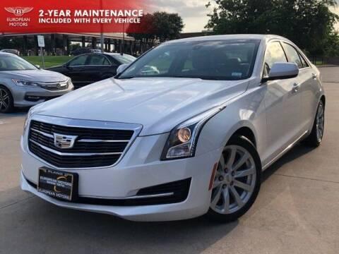 2018 Cadillac ATS for sale at European Motors Inc in Plano TX