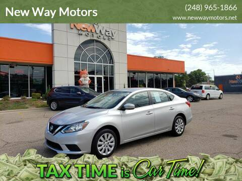 2016 Nissan Sentra for sale at New Way Motors in Ferndale MI
