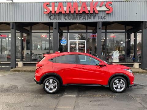 2017 Honda HR-V for sale at Siamak's Car Company llc in Salem OR