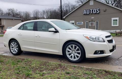 2013 Chevrolet Malibu for sale at Riverfront Auto Sales in Middletown OH
