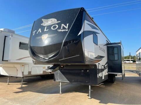 2018 Jayco Talon 393T for sale at Buy Here Pay Here RV in Burleson TX