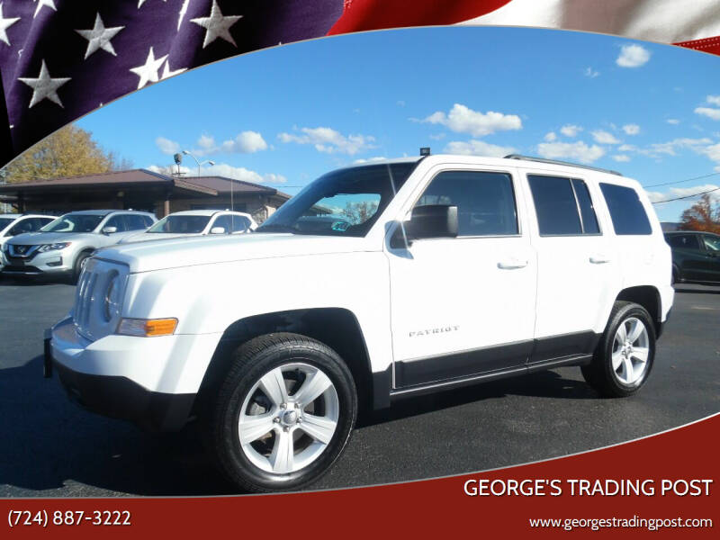 2017 Jeep Patriot for sale at GEORGE'S TRADING POST in Scottdale PA
