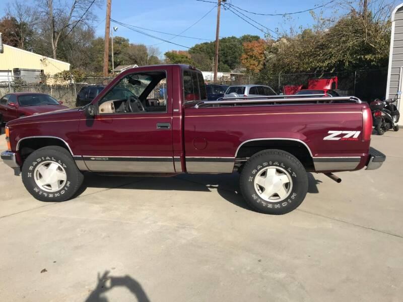 1996 Chevrolet C/K 1500 Series 2dr K1500 Silverado 4WD Standard Cab SB - Charlotte NC