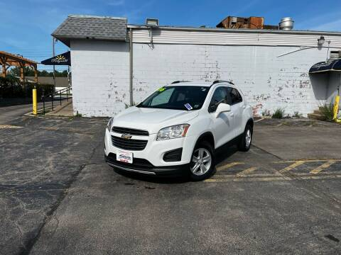2016 Chevrolet Trax for sale at Santa Motors Inc in Rochester NY