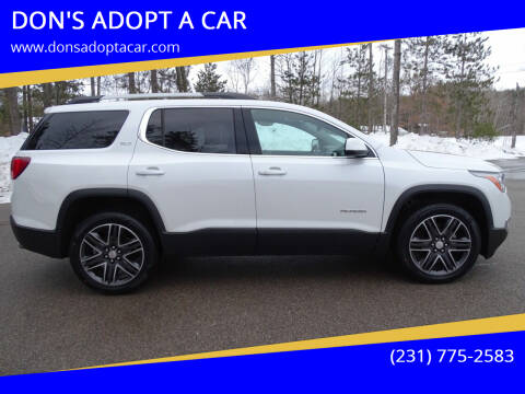 2017 GMC Acadia for sale at DON'S ADOPT A CAR in Cadillac MI