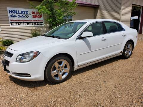 2009 Chevrolet Malibu for sale at Hollatz Auto Sales in Parkers Prairie MN