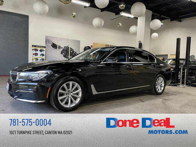 2019 BMW 7 Series for sale at DONE DEAL MOTORS in Canton MA