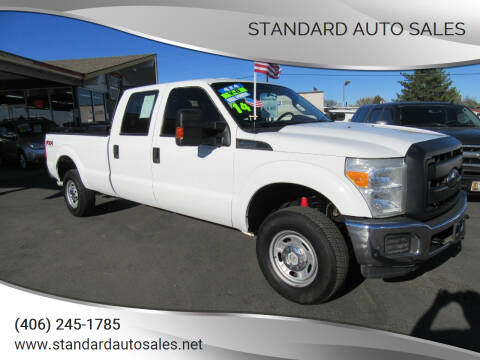2014 Ford F-250 Super Duty for sale at Standard Auto Sales in Billings MT