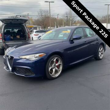 2019 Alfa Romeo Giulia for sale at Coast to Coast Imports in Fishers IN